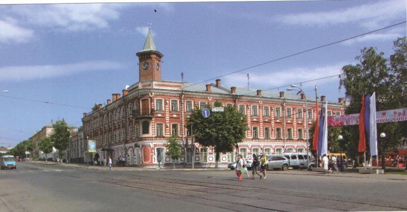 Дом Гончарова. музей писателя